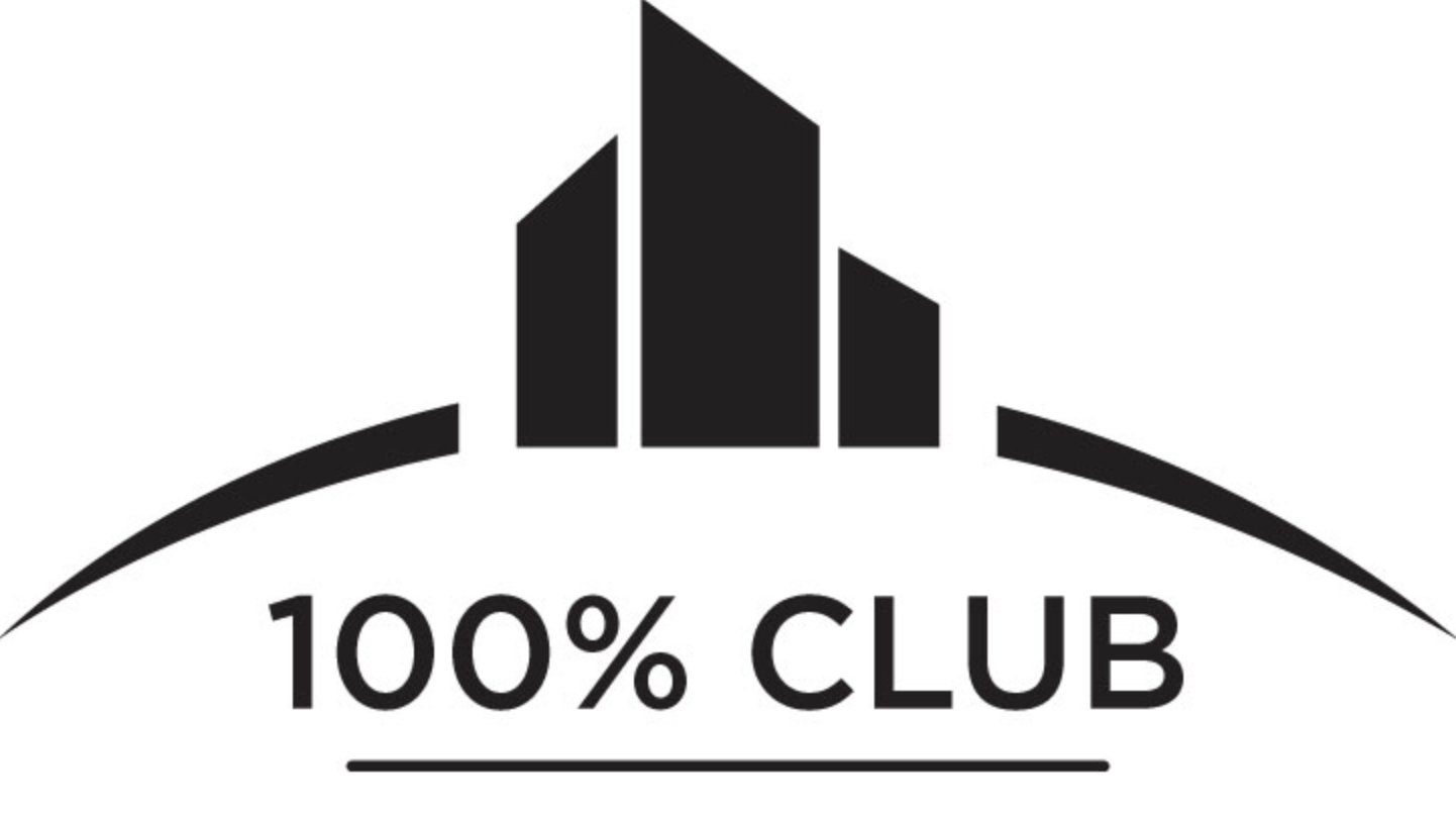 Recipient of the 100% Club for five consecutive years!